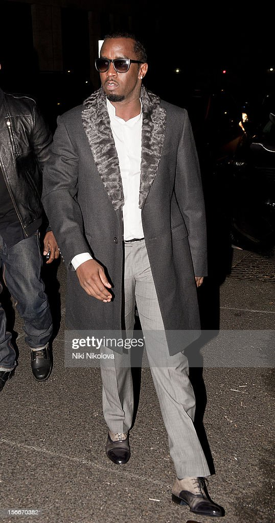 Sean 'Diddy' Combs sighting on November 18, 2012 in London, England.