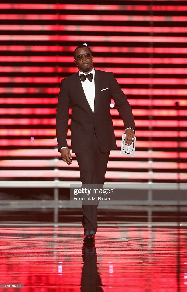 Sean 'Diddy' Combs speaks onstage at The 2013 ESPY Awards at Nokia Theatre L.A. Live on July 17, 2013 in Los Angeles, California.