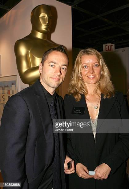"""Sean Ellis and Lene Bausager Best Live Action Short Film nominees for 'Cashback"""""""