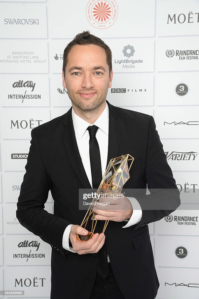 Sean Ellis Winner of The Best Director Award attends the Moet British Independent Film Awards 2013 at Old Billingsgate Market on December 8, 2013 in London, England.