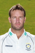 Sean Ervine of Hampshire CCC poses for a portrait at The Rose Bowl on April 6 2011 in Southampton England