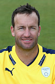 Sean Ervine of Hampshire during the Hampshire CCC Photocall at the Ageas Bowl on April 1 2015 in Southampton England