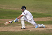 Sean Ervine of Hampshire hits out during day three of the LV County Championship match between Hampshire and Kent at Ageas Bowl on September 17 2014...