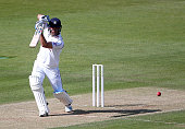 Sean Ervine of Hampshire hits out during the the LV County Championship match between Hampshire and Somerset at The Ageas Rose Bowl on June 22 2015...