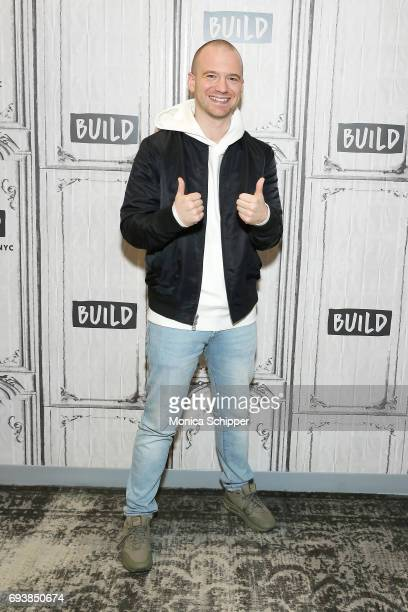 Sean Evans attends Build presents Sean Evans discussing 'Hot Ones' at Build Studio on June 8 2017 in New York City