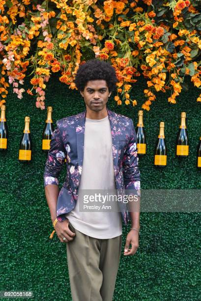 Sean Frazier attends The Tenth Annual Veuve Clicquot Polo Classic Arrivals at Liberty State Park on June 3 2017 in Jersey City New Jersey