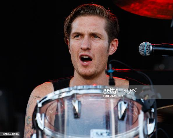 Sean Friday of the Rock Band Dead Sara performs at the 2012 Sunset Strip Music Festival on August 18 2012 in West Hollywood California