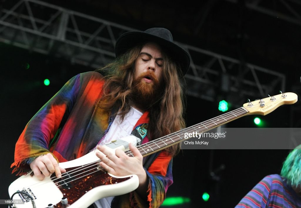 Sean Gadd of Grouplove performs during Party In The Park 2013 at Centennial Olympic Park on May 18, 2013 in Atlanta, Georgia.