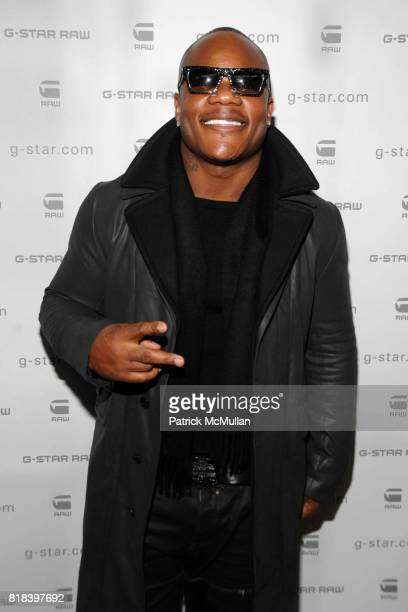 Sean Garrett attends GSTAR RAW Presents NY RAW Fall/Winter 2010 Collection Arrivals at Hammerstein Ballroom on February 16 2010 in New York City