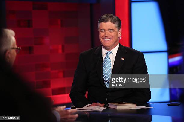 Sean Hannity appears on FOX News Channel's 'Hannity' at FOX Studios on May 11 2015 in New York City