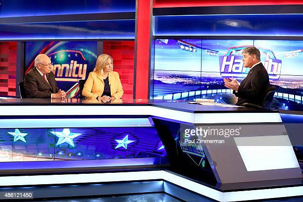 Sean Hannity interviews former Vice President Dick Cheney and his daughter Liz Cheney regarding their new book at FOX News Channel's 'Hannity at FOX...