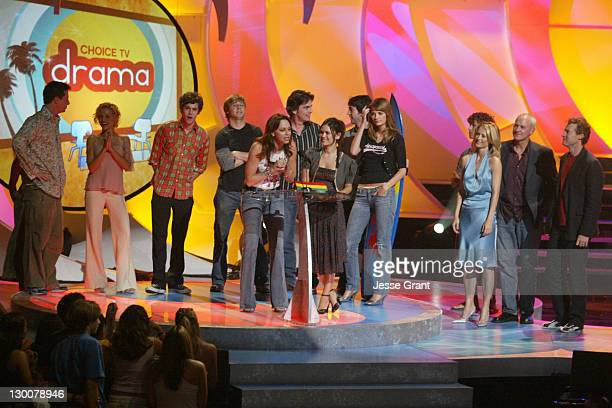 Sean Hayes Brittany Murphy and Cast of 'The OC' winner of Choice TV Breakout Show