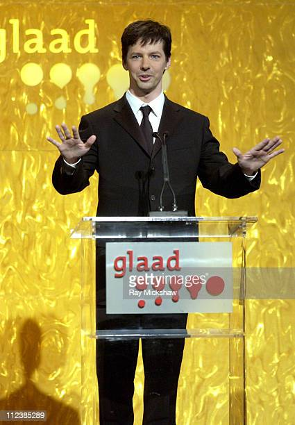 Sean Hayes during The 14th Annual GLADD Media AwardsShow at Kodak Theater in Hollywood California United States