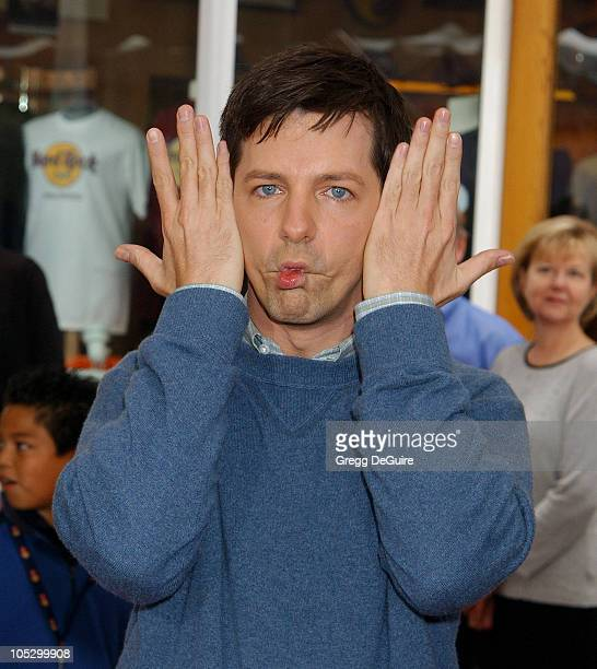 Sean Hayes during 'The Cat In The Hat' World Premiere at Universal Studios Cinema in Universal City California United States