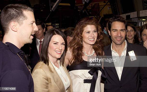 Sean Hayes Megan Mullally Debra Messing and Eric McCormack of 'Will Grace'