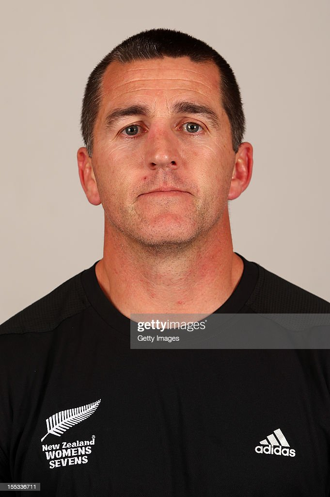 Sean Horan poses for a headshot during the New Zealand Womens Rugby Sevens headshot session at Pulman Lodge on November 3, 2012 in Auckland, New Zealand.