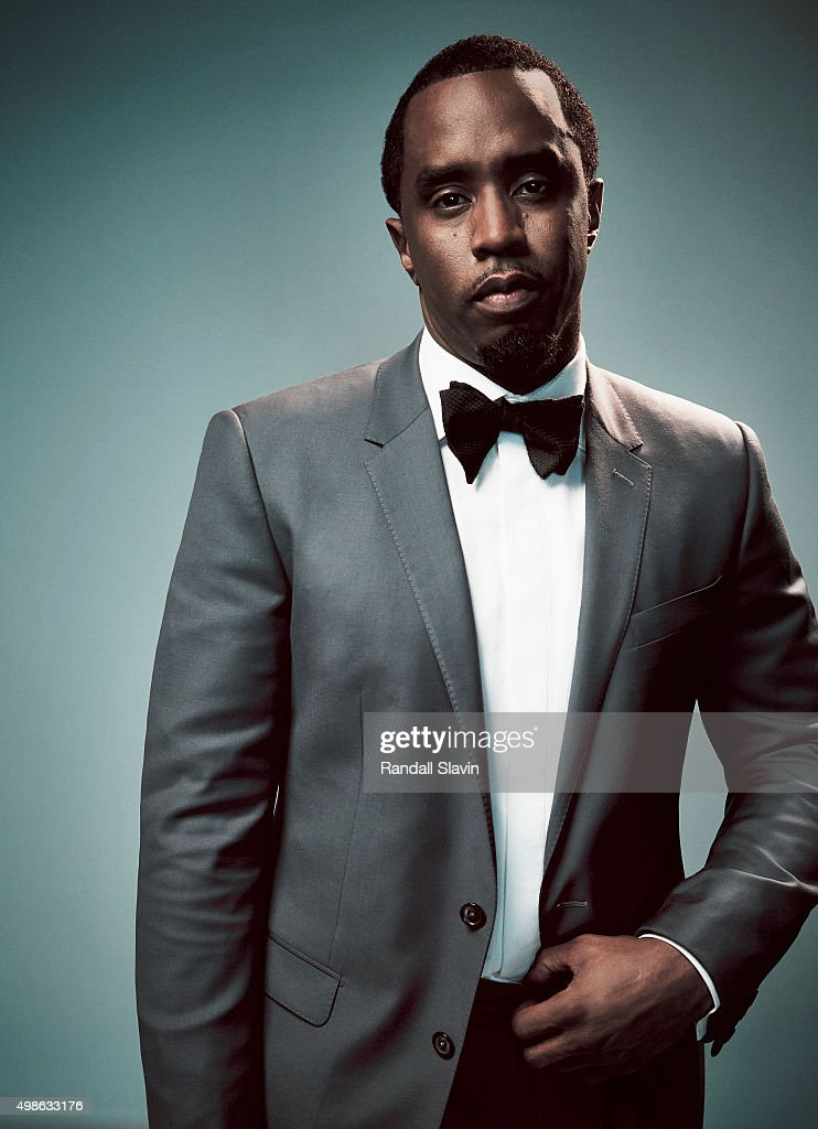 Sean John Combs, also known as P. Diddy poses for a portrait at the 2015 American Music Awards on November 22, 2015 in Los Angeles, California.