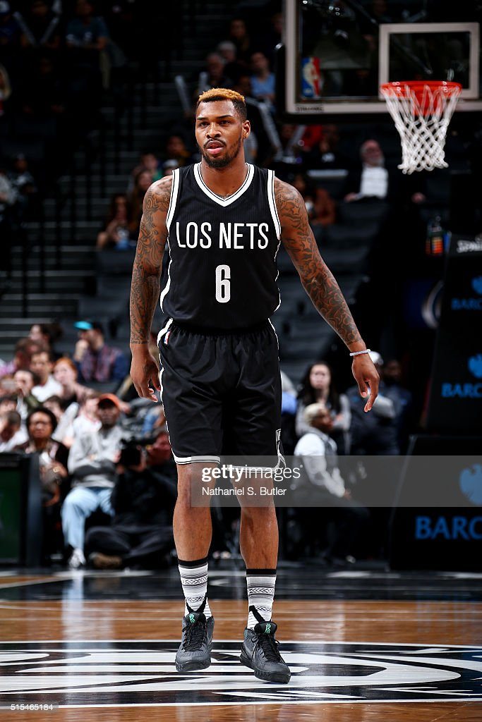<a gi-track='captionPersonalityLinkClicked' href=/galleries/search?phrase=Sean+Kilpatrick&family=editorial&specificpeople=7444970 ng-click='$event.stopPropagation()'>Sean Kilpatrick</a> #6 of the Brooklyn Nets during the game against the Milwaukee Bucks on March 13, 2016 at Barclays Center in the Brooklyn borough of New York City.
