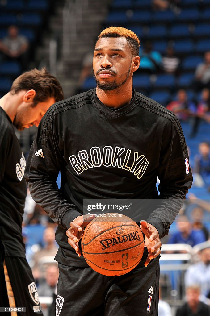 <a gi-track='captionPersonalityLinkClicked' href=/galleries/search?phrase=Sean+Kilpatrick&family=editorial&specificpeople=7444970 ng-click='$event.stopPropagation()'>Sean Kilpatrick</a> #6 of the Brooklyn Nets warms up before the game against the Orlando Magic on March 29, 2016 at Amway Center in Orlando, Florida.