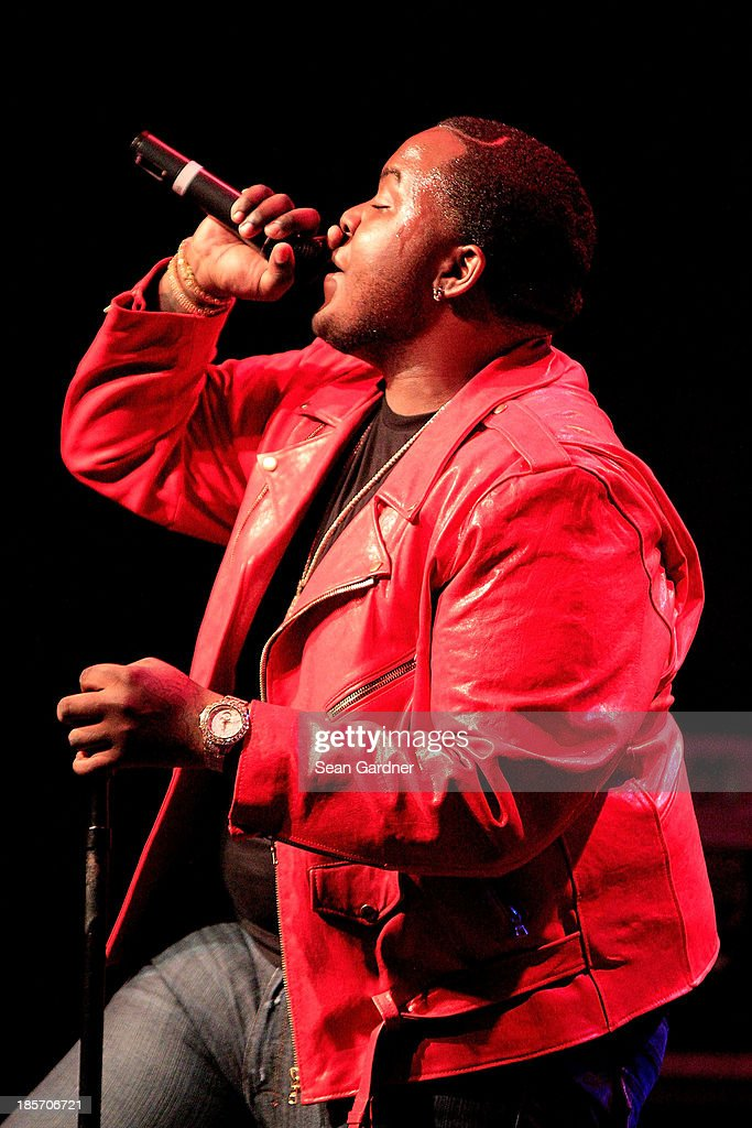 Sean Kingston performs during the Music Choice Heads Back To School In New Orleans at the House of Blues on October 23, 2013 in New Orleans, Louisiana.