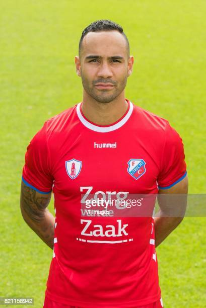 Sean Klaiber during the team presentation of FC Utrecht on July 22 2017 at Sportcomplex Zoudenbalch in Utrecht The Netherlands