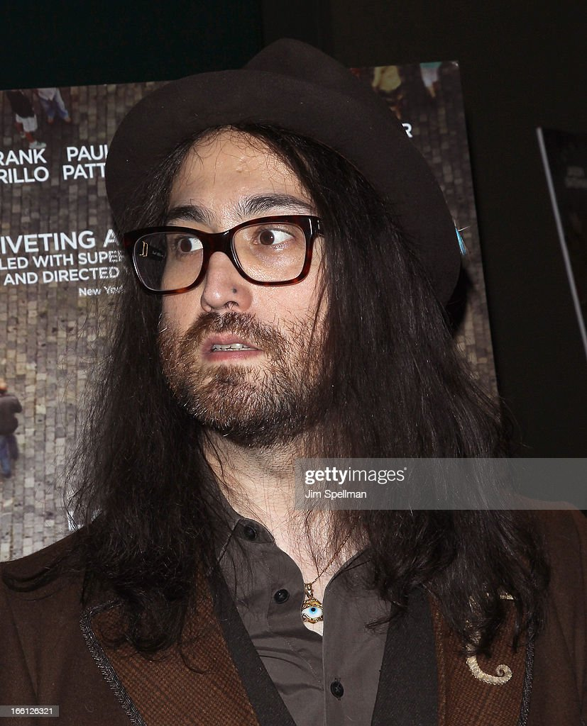 Sean Lennon attends 'Disconnect' New York Special Screening at SVA Theater on April 8 2013 in New York City