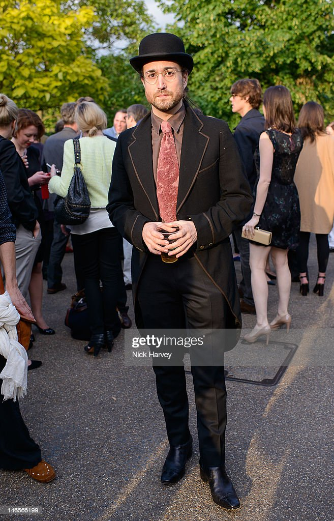 Sean Lennon attends the private view of Yoko Ono's exhibition 'To The Light' at The Serpentine Gallery on June 19, 2012 in London, England.