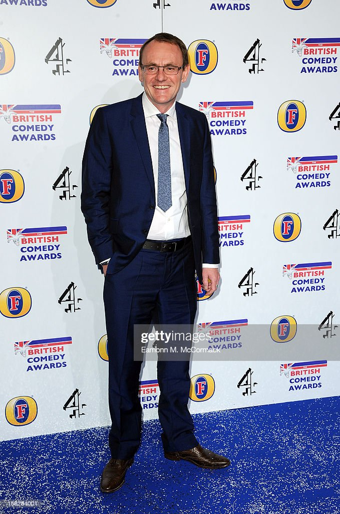 Sean Lock attends the British Comedy Awards at Fountain Studios on December 12, 2012 in London, England.