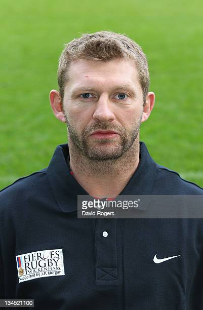 Sean Long of the Northern Hemisphere XV poses for a portrait during the captain's run at Twickenham Stadium on December 2 2011 in London England