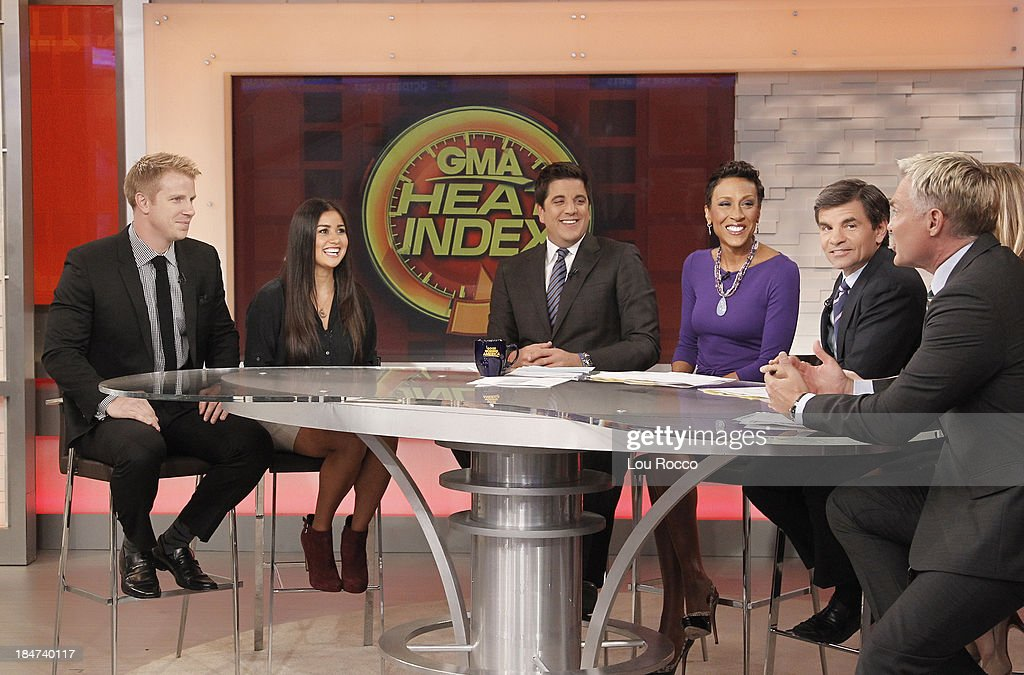 AMERICA - Sean Lowe and Catherine Giudici are guests on 'Good Morning America,' 10/14/13, airing on the ABC Television Network. SEAN