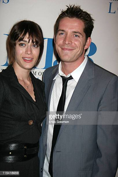 Sean Maguire and Lizzy Caplan during The Museum of Television Radio Turns 30 at The Museum of Television and Radio in Beverly Hills CA United States