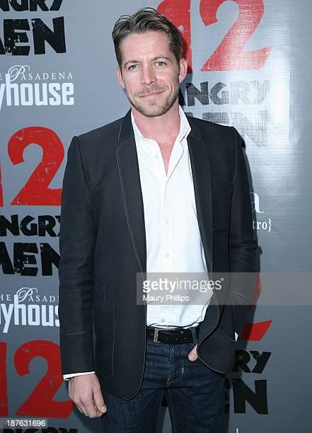 Sean Maguire attends '12 Angry Men' at the Pasadena Playhouse on November 10 2013 in Pasadena California
