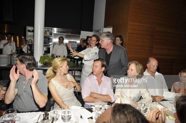 Sean Mahoney Lela Rose Alice Waters and John Lyons attend EDIBLE SCHOOLYARD NEW YORK Summer Solstice Dinner Hosted by LELA ROSE and ALICE WATERS at...