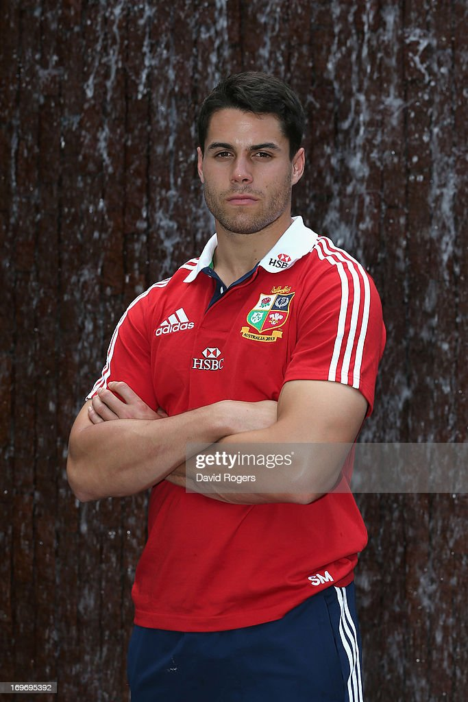 Sean Maitland the Lions wing poses at the Grand Hyatt hotel after the British and Lions media session on May 31 2013 in Hong Kong