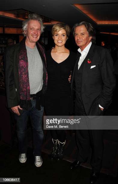 Sean Mathias Isabella Calthorpe and Richard Caring attend the reception for Heavenly Ivy to celebrate 20 years of The Ivy on November 8 2010 in...
