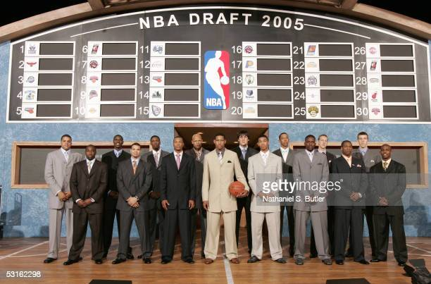 Sean May Raymond Felton Marvin Williams Deron Williams Hakim Warrick Antoine Wright Charlie Villanueva Danny Granger Andrew Bogut Gerald Green...