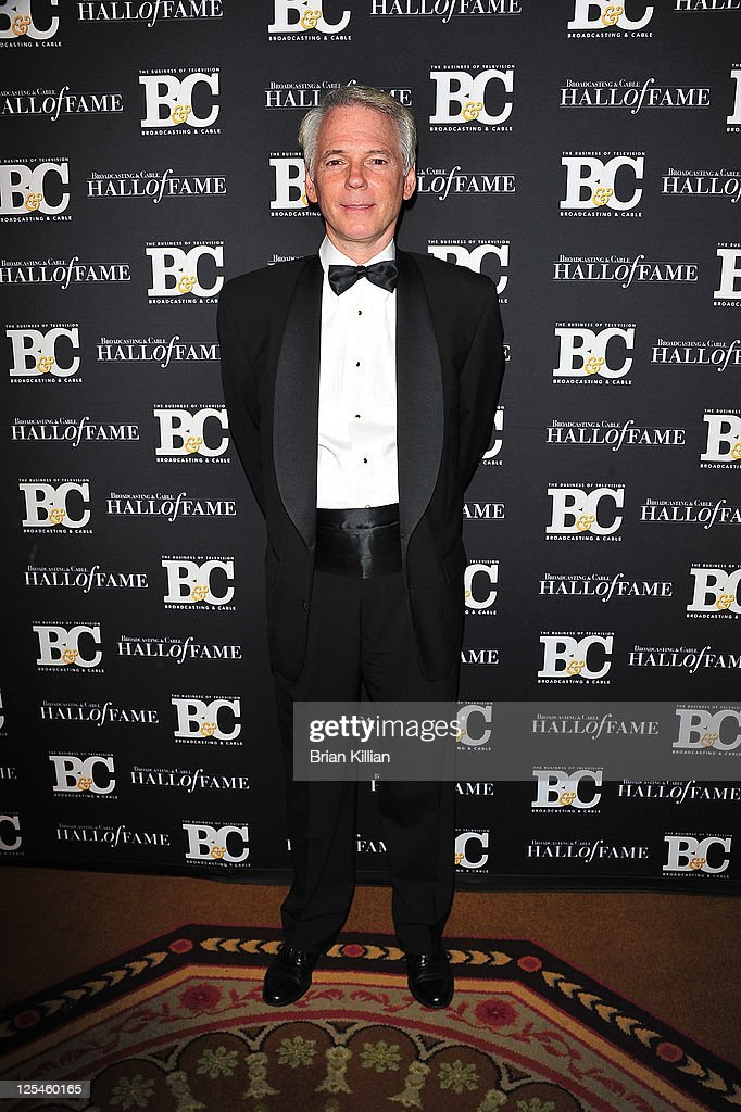 Sean McManus President of CBS News and Sports attends the 20th Annual Broadcasting and Cable Hall of Fame Awards at The Waldorf=Astoria on October 27...