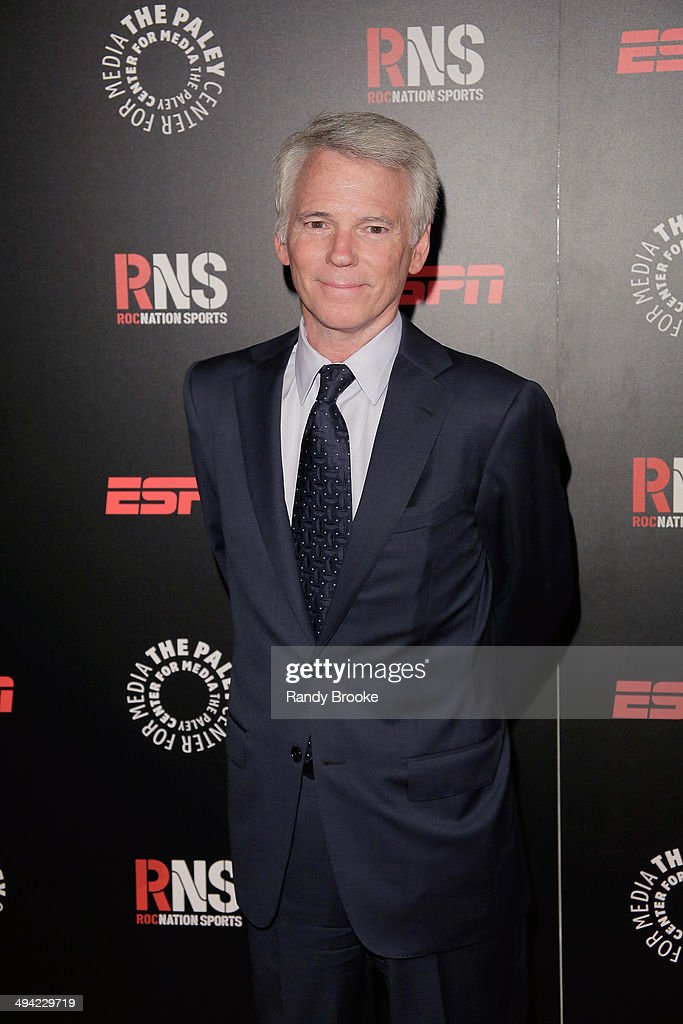 Sean Mcmanus the Chairman of CBS Sports attends the The Paley Center for Media 2014 Spring Benefit Dinner at 583 Park Avenue on May 28 2014 in New...