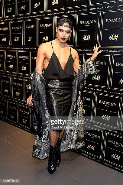 Sean Miley Moore attends the Balmain X HM Collection Launch Party on November 4 2015 in London England
