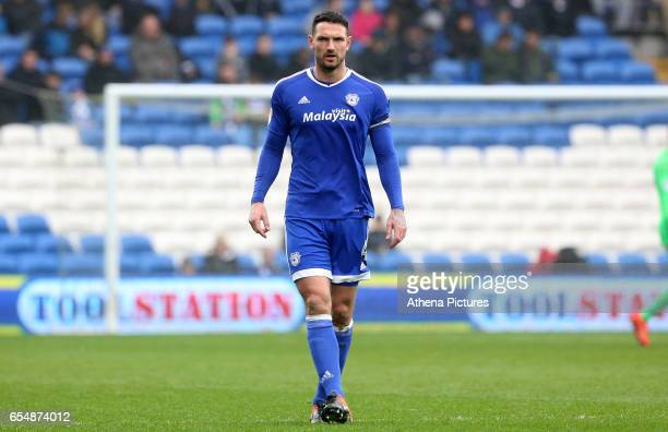 Sean Morrison of Cardiff City during the Sky Bet Championship match between Cardiff City and Ipswich Town at The Cardiff City Stadium on March 18...