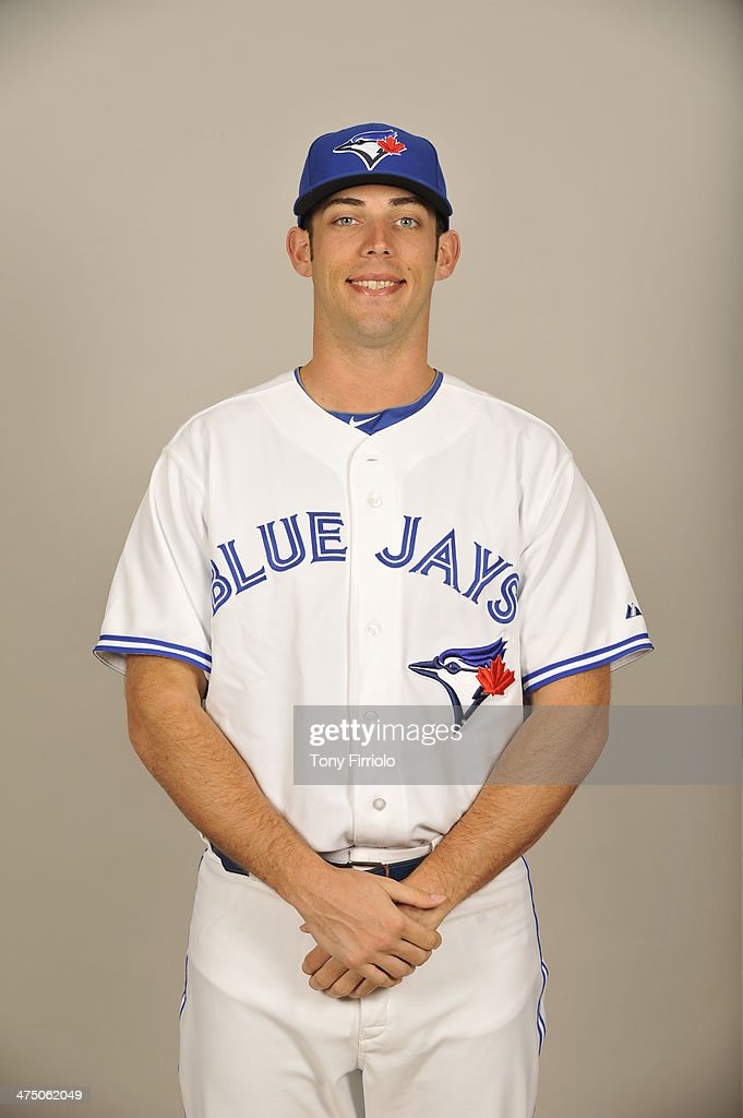 <a gi-track='captionPersonalityLinkClicked' href=/galleries/search?phrase=Sean+Nolin&family=editorial&specificpeople=10568211 ng-click='$event.stopPropagation()'>Sean Nolin</a> #35 of the Toronto Blue Jays poses during Photo Day on Tuesday, February 25, 2014 at Florida Auto Exchange Stadium in Dunedin, Florida.