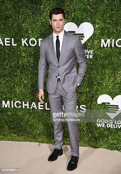 Sean O'Pry attends the God's Love We Deliver Golden Heart Awards on October 17 2016 in New York City