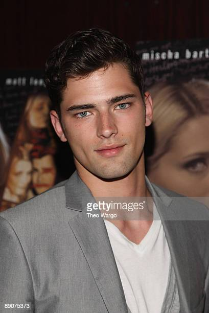 Sean O'Pry attends the 'Homecoming' premiere at the MGM Screening Room on July 16 2009 in New York City