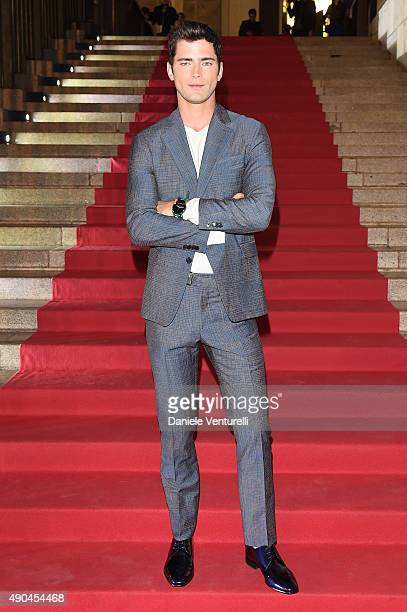 Sean O'Pry attends Vogue China 10th Anniversary at Palazzo Reale on September 28 2015 in Milan Italy