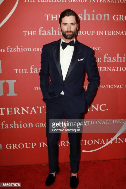 Sean O'Pry during the Fashion Group International 34th Annual Night of Stars Gala on October 26 2017 in New York City