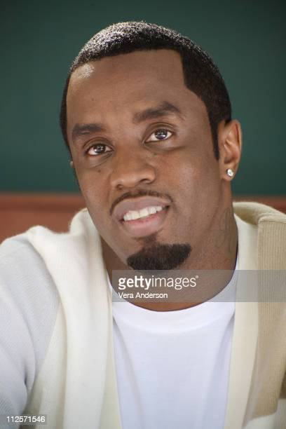 Sean 'P Diddy' Combs at the 'Get Him To The Greek' Press Conference at The Greek Theatre on May 22 2010 in Los Angeles California