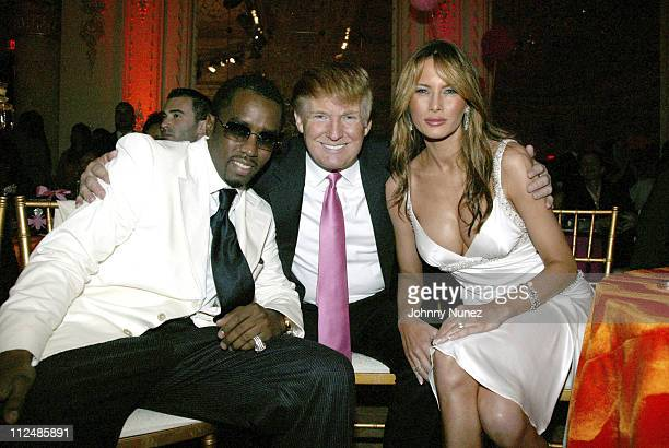 Sean 'P Diddy' Combs Donald Trump and Melania Trump