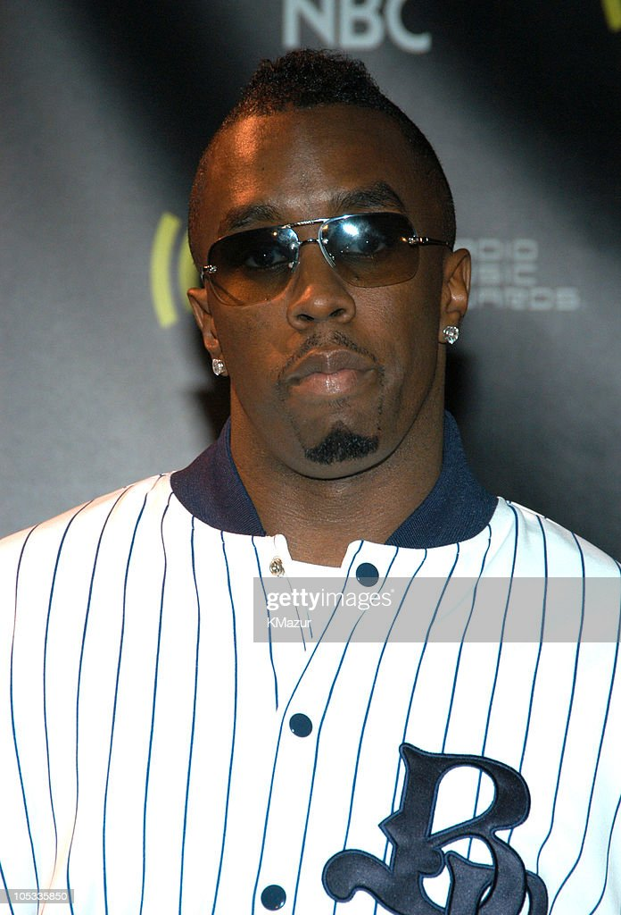 Sean 'P. Diddy' Combs during 2003 Radio Music Awards - Arrivals and Backstage at The Aladdin Hotel and Casino in Las Vegas, Nevada, United States.