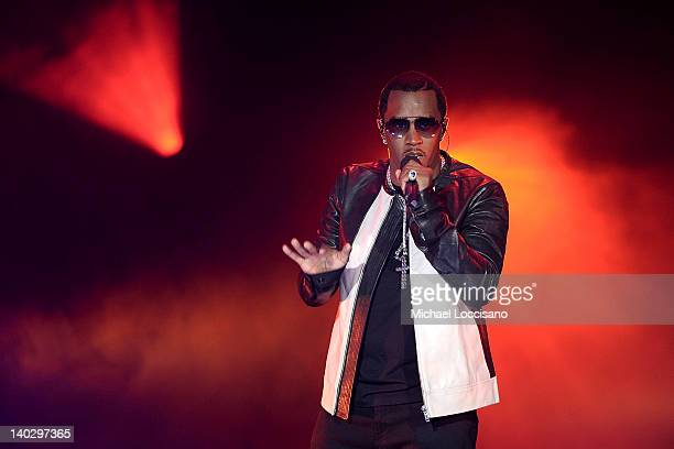 Sean 'P Diddy' Combs performs during Escape To Total Rewards at Gotham Hall on March 1 2012 in New York City