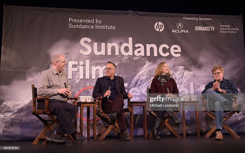 Sean P Means Sundance Film Festival Director John Cooper Sundance Institute Executive Director Keri Putnam and Sundance Institute President Robert...